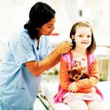 Unilateral hearing loss affects children in school.