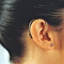 Ear with Behind-the-Ear hearing aid for hearing aid reviews