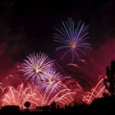 Fireworks like these can cause hearing loss