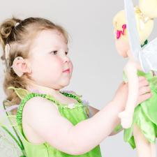 Inclusive cochlear implant doll from toys like me