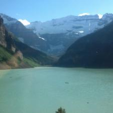 Lake Louise, Canada is a beautiful place to learn the signs and symptoms of hearing loss.