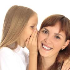 "Daughter whispers to her mother, ""There is a hidden link between Diabetes and Hearing Loss."""